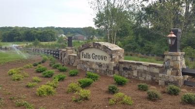Falls Grove Marquee
