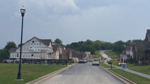 Falls Grove progress on main road